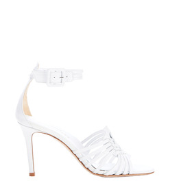 lewis sandal in white