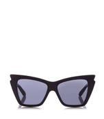 black 'rapture' bat-eye sunglasses