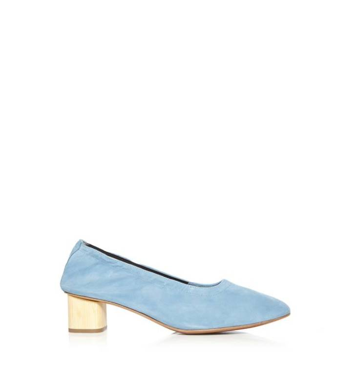 blue pixie slipper