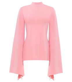 pink adelia top