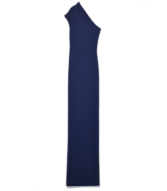 navy 'luna' maxi dress