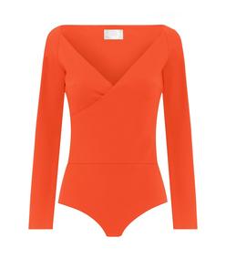 red yoland bodysuit