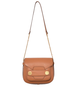 camel stella popper big shoulder bag