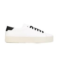 white double-sole sneaker