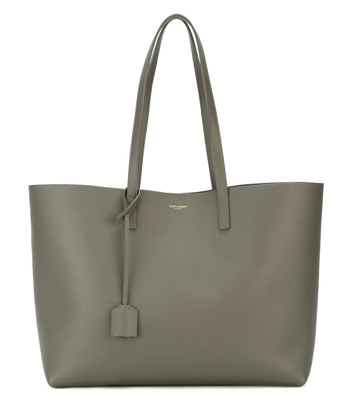 green large 'shopper' tote bag