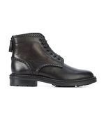 black william 25 lace-up boots