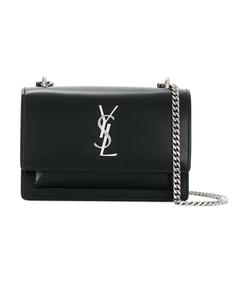 mini sunset chain wallet bag