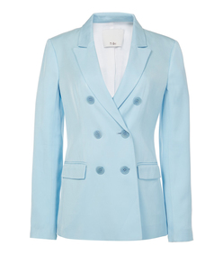 baby blue steward blazer