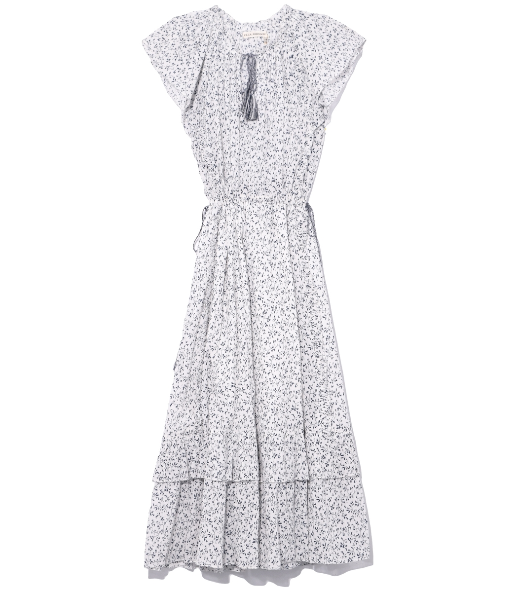 White Porcelain Anja Dress
