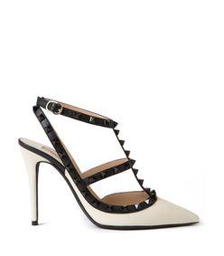 ShopBazaar Valentino Ankle Strap Rockstud Pump MAIN