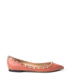 ShopBazaar Valentino Rockstud Ballet Flat MAIN