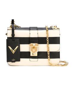 ShopBazaar Valentino Black & White Rockstud Chain Bag MAIN