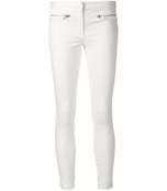 white slim fit trousers
