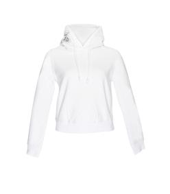white champion hooded sweatshirt