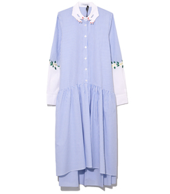 blue/white bishkek dress
