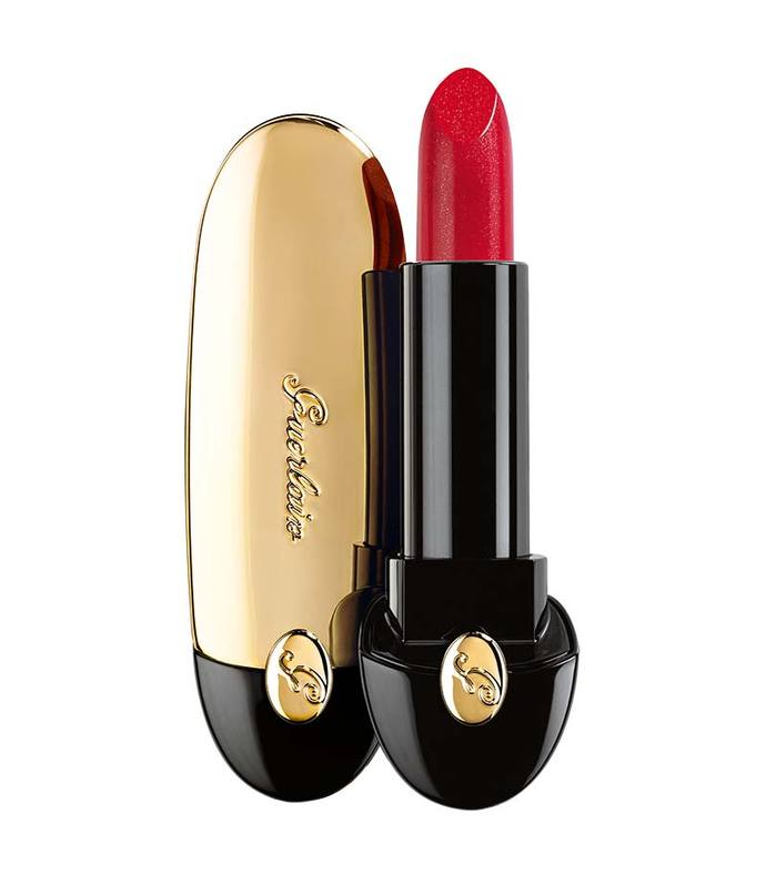 rouge g lipstick - gold light 02 flaming red
