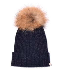 atlantic fur beanie