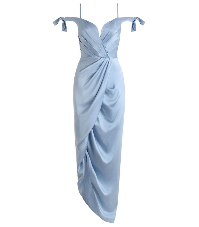 sky 'winsome' cocktail dress