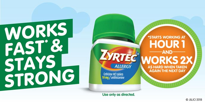 image relating to Zyrtec Printable Coupon $10 called Zyrtec Products and solutions Ceremony Support