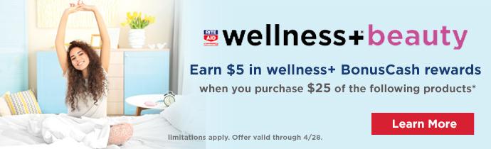 image of wellness+ Beauty Advertisement