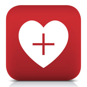 image of heart healthy icon