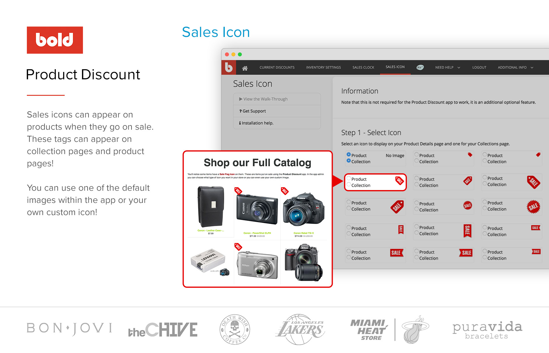 daily deal software sale icon coundown timer for ecommerce website