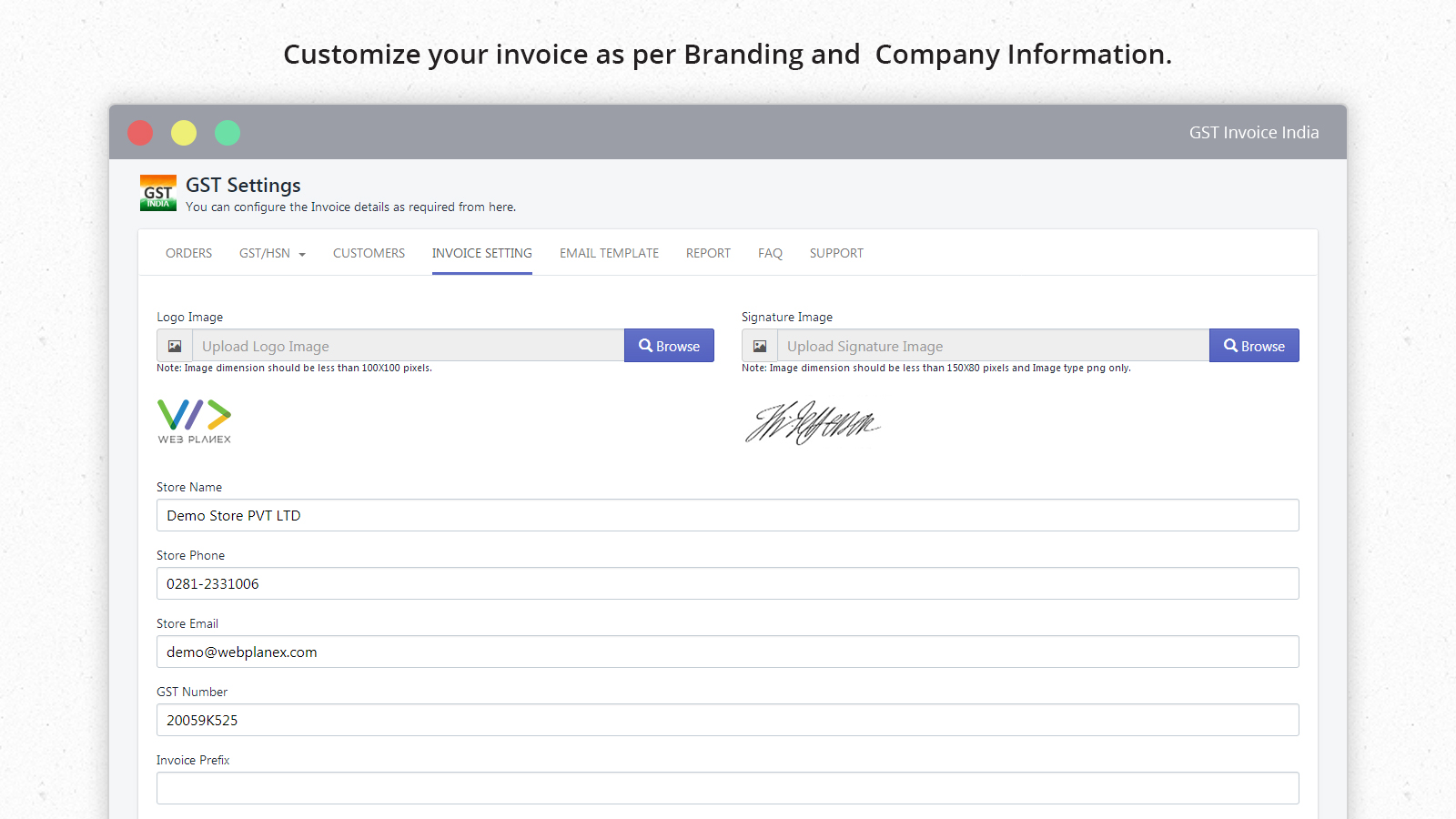 GST Invoice India Ecommerce Plugins For Online Stores Shopify - Sell your invoices