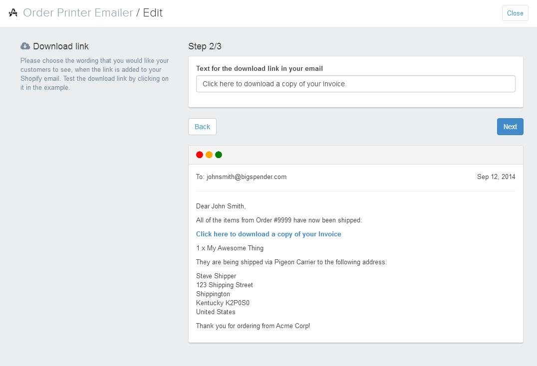 Order Printer Emailer Ecommerce Plugins For Online Stores - Download invoice app