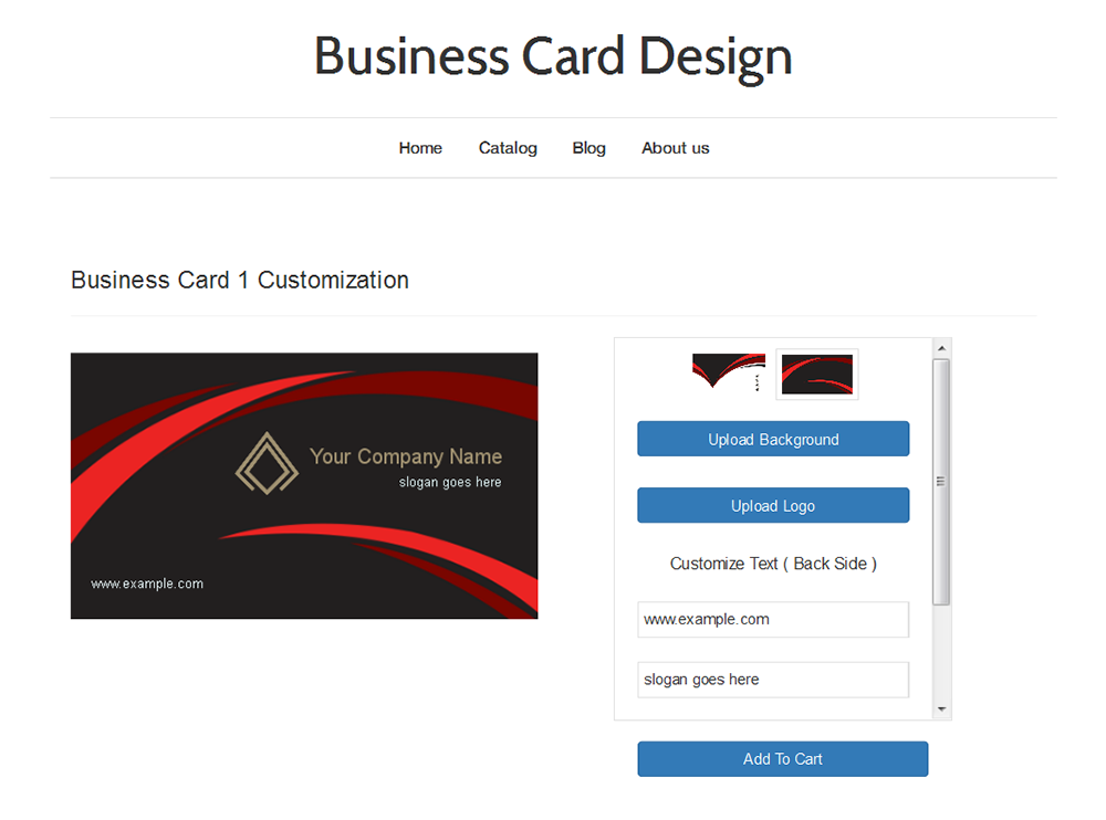 Business Card Design – Ecommerce Plugins for Online Stores ...