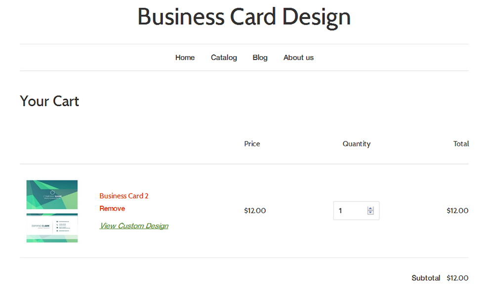 Business Card Design – Ecommerce Plugins for Online Stores – Shopify ...