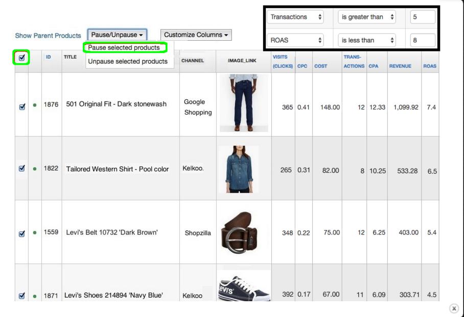 shopping engine data feed management datafeedwatch