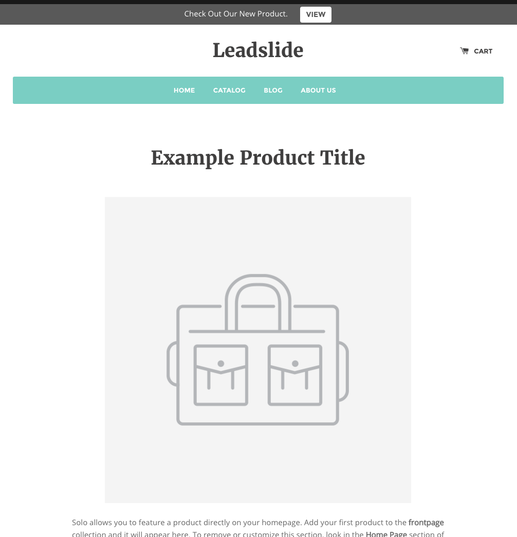 Leadslide Shipping Bar – Ecommerce Plugins for Online Stores ...