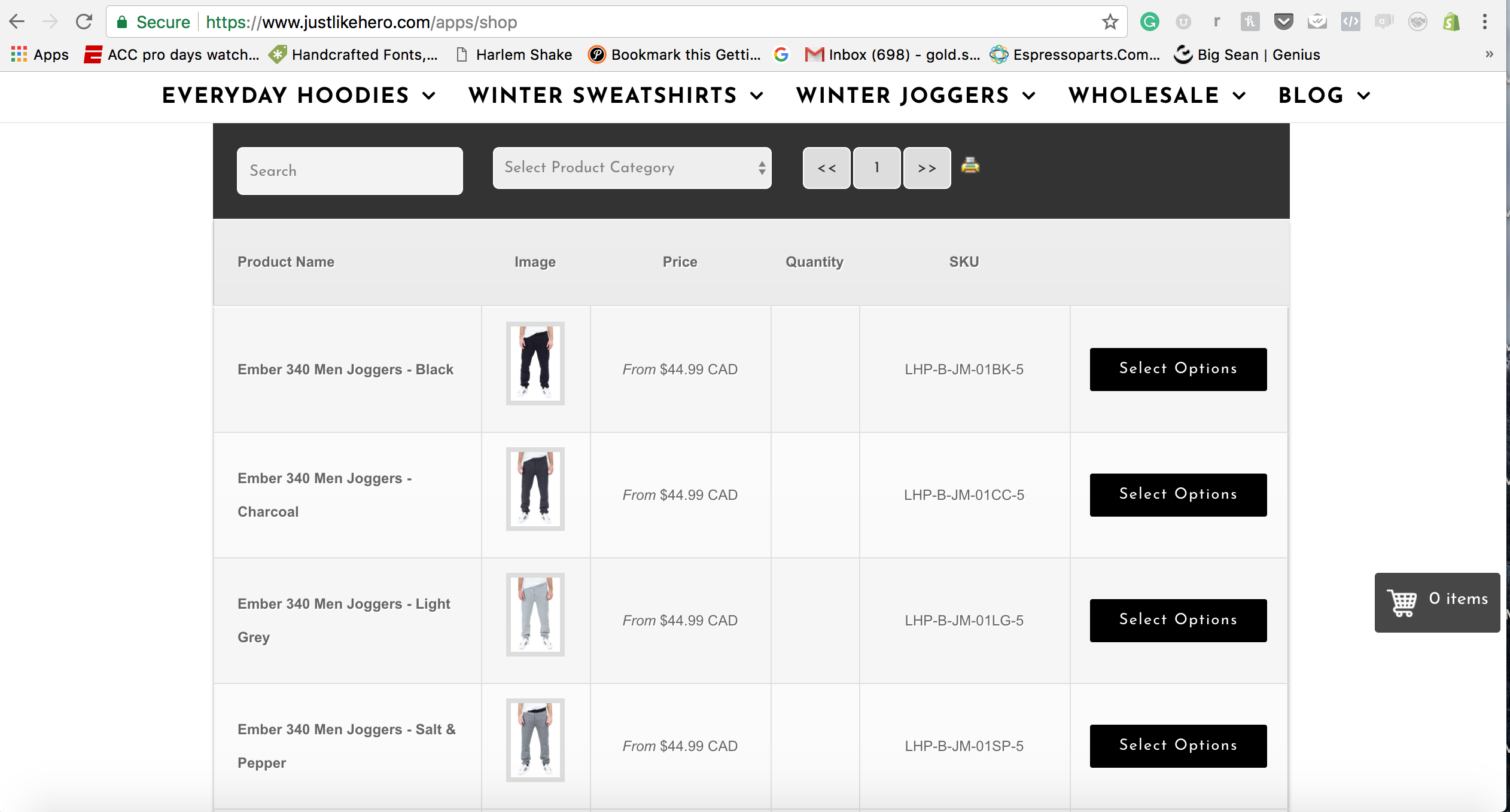 Single Page Order Form (Wholesale & Consumer) – Ecommerce Plugins ...