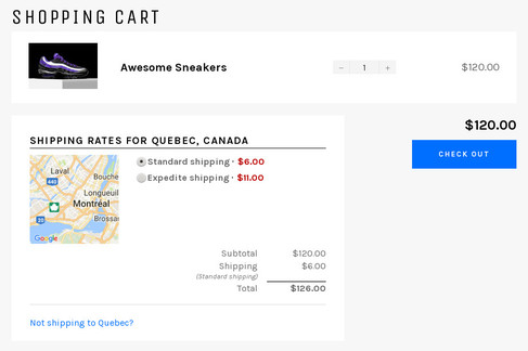 Best shipping options for shopify