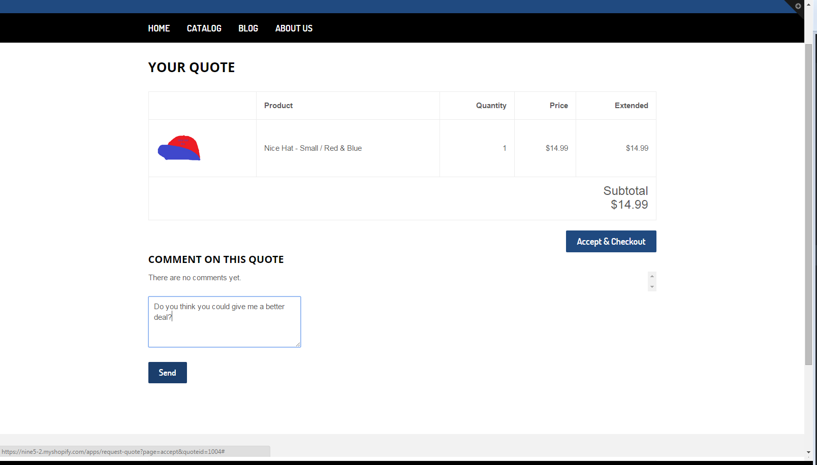 Request For Quote Quick Quote  Ecommerce Plugins For Online Stores  Shopify App Store