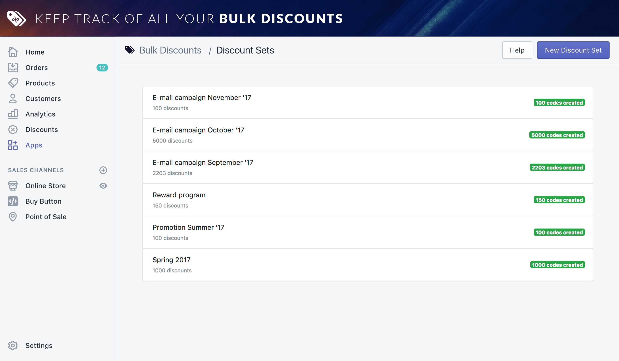 Bulk discounts ecommerce plugins for online stores shopify app store screenshots fandeluxe Image collections