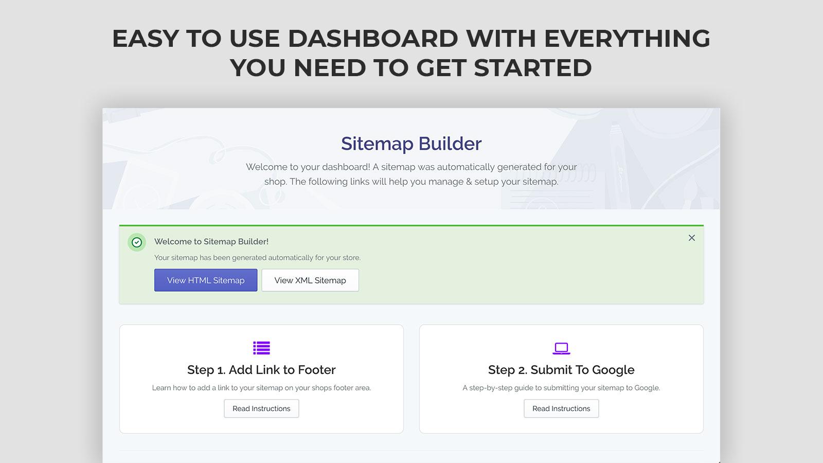 seo sitemap builder automatic html sitemap generator ecommerce