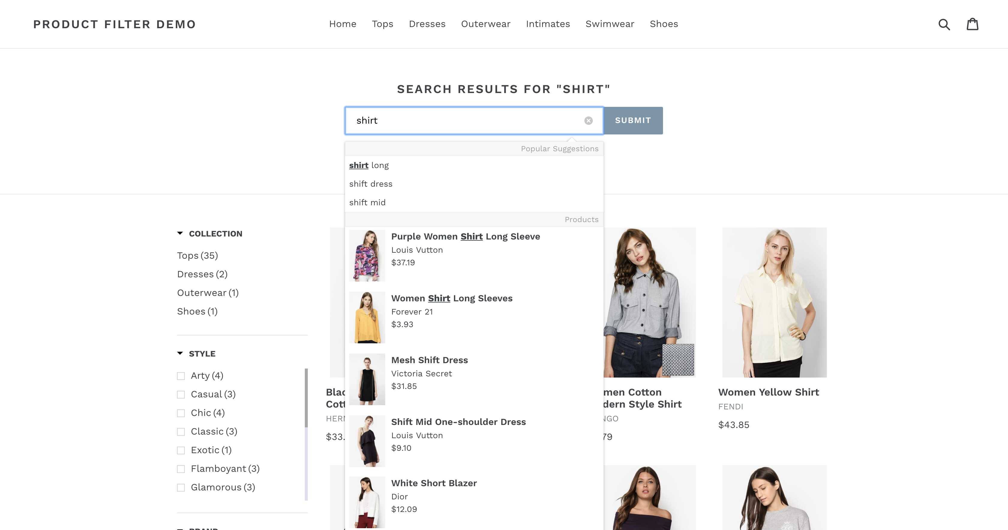 how to add product filter in shopify