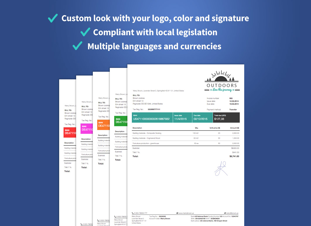Billdu Automatic Invoices Ecommerce Plugins For Online Stores - Invoice late fee wording create online store
