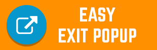 Easy exit popup
