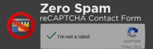 Zero Spam reCAPTCHA Contact Form