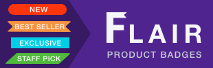Flair product badges