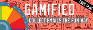 Gamified Email Collection (Wheel Pop Up)