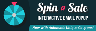 Spin-a-Sale - Interactive Email Popup app banner