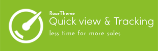 Quickshop & Tracking - RoarTheme
