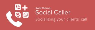 Social Caller - RoarTheme