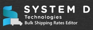 Bulk Shipping Rate Editor by SystemD