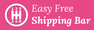 Easy Free Shipping Bar