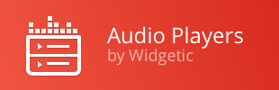 Audio Players by Widgetic