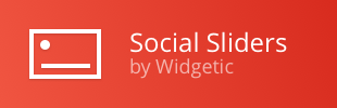 Social Media Sliders by Widgetic